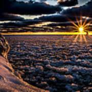 Lake Mi Sunset 8 Poster
