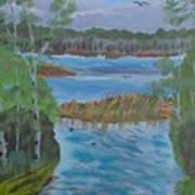 Lake Okahumpka Park Poster