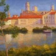 Landscape At Arles France Poster