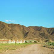 Landscape Desert In Almeria, Andalusia, Spain Poster
