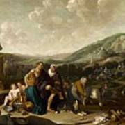 Landscape With Jacob And Rachel Poster