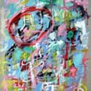 Large Abstract No 5 Poster