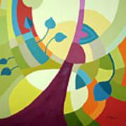 Leaning Towards Fall Poster by Carola Ann-Margret Forsberg