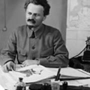 Leon Trotsky (1879-1940) Poster