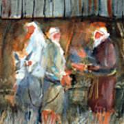 Liberty - At The Manger Poster