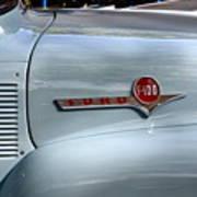 Light Blue Ford Pickup Poster