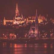 Lights Of Budapest Poster