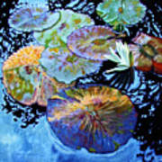 Lily Pad Palettes Poster