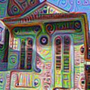 Little House On Bourbon Street Poster