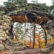 Little Pravcice Gate - Famous Natural Sandstone Arch Poster