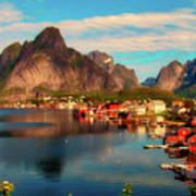 Lofoten, Norway Poster