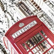 London Telephone 3b Poster