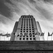 Los Angeles City Hall Poster