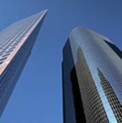 Los Angeles Skyscrapers Poster