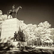 Louisiana Monument At Gettysburg Poster