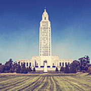 Louisiana State Capital Poster