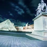 Louvre Museum 6b Art Poster