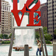 Love Sculpture Poster