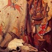 lrs Sharp Joseph Henry Old Frontier Stuff Joseph Henry Sharp Poster