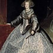 Luycks, Frans Amberes, 1604 - Viena, 1668 Maria Of Austria, Queen Of Hungary Ca. 1635 Poster