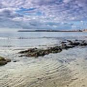 Lyme Regis Seascape - October Poster