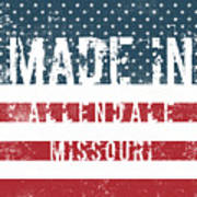 Made In Allendale, Missouri Poster