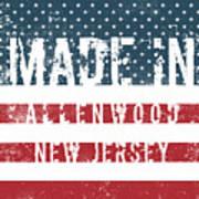 Made In Allenwood, New Jersey Poster