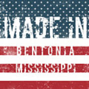 Made In Bentonia, Mississippi Poster