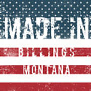 Made In Billings, Montana Poster