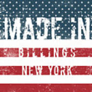 Made In Billings, New York Poster