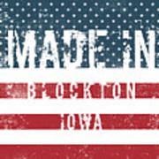 Made In Blockton, Iowa Poster
