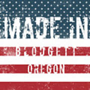 Made In Blodgett, Oregon Poster