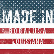 Made In Bogalusa, Louisiana Poster