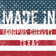 Made In Corpus Christi, Texas Poster