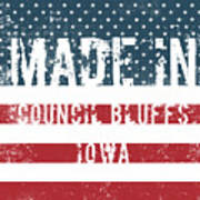 Made In Council Bluffs, Iowa Poster