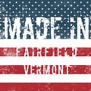 Made In Fairfield, Vermont Poster