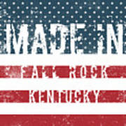 Made In Fall Rock, Kentucky Poster