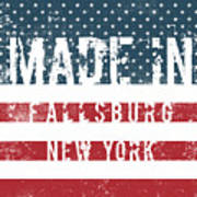 Made In Fallsburg, New York Poster