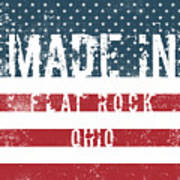 Made In Flat Rock, Ohio Poster