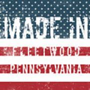 Made In Fleetwood, Pennsylvania Poster