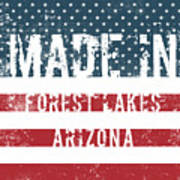 Made In Forest Lakes, Arizona Poster