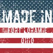 Made In Fort Loramie, Ohio Poster