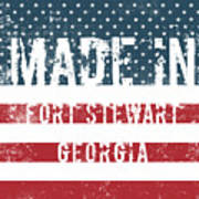 Made In Fort Stewart, Georgia Poster