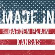 Made In Garden Plain, Kansas Poster