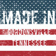 Made In Gordonsville, Tennessee Poster