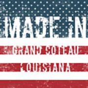 Made In Grand Coteau, Louisiana Poster