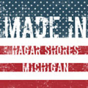Made In Hagar Shores, Michigan Poster