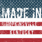 Made In Hopkinsville, Kentucky Poster