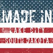 Made In Lake City, South Dakota Poster