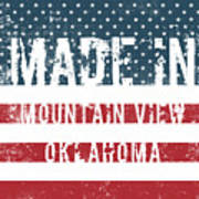 Made In Mountain View, Oklahoma Poster